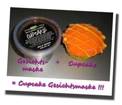 Lush Gesichtsmaske Cupcake