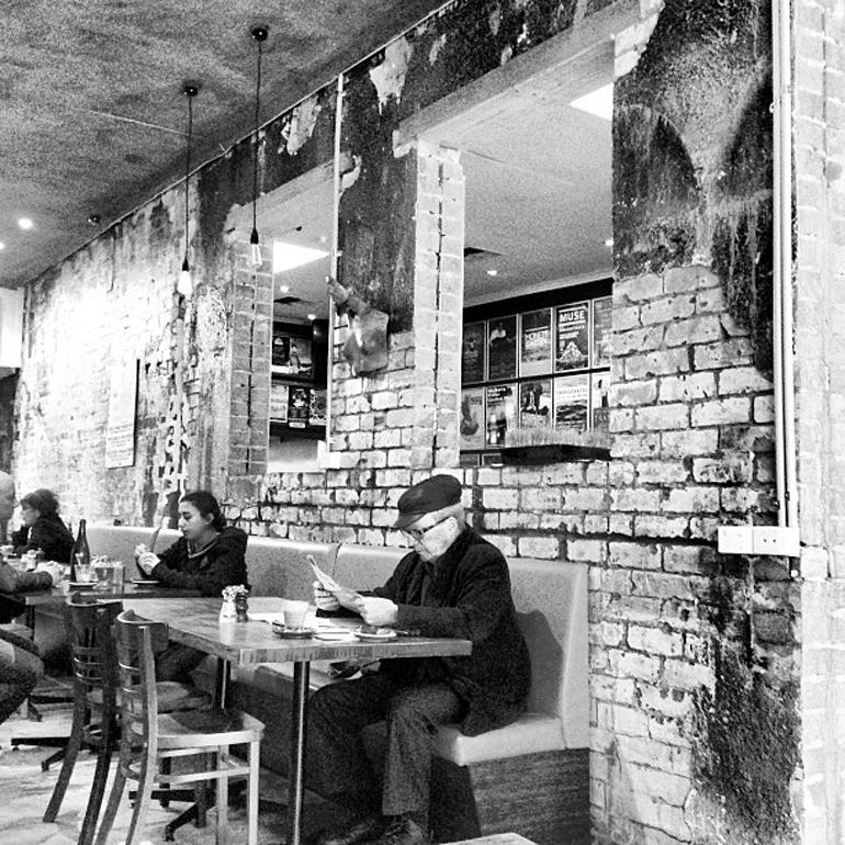 hipster-Cafe