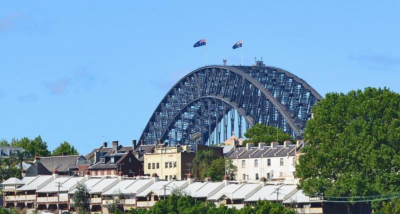 Harbour Sydney Brücke
